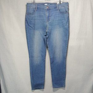 NEW Old Navy Mid Rise Super Skinny Jeans Sz 16